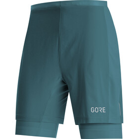 GORE WEAR R5 2en1 Shorts Hombre, dark nordic blue